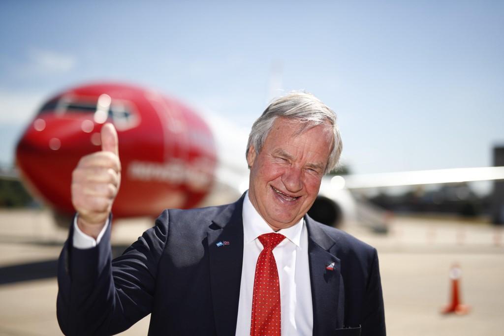 OPPTUR: Bjørn Kjos er sjef i Norwegian.