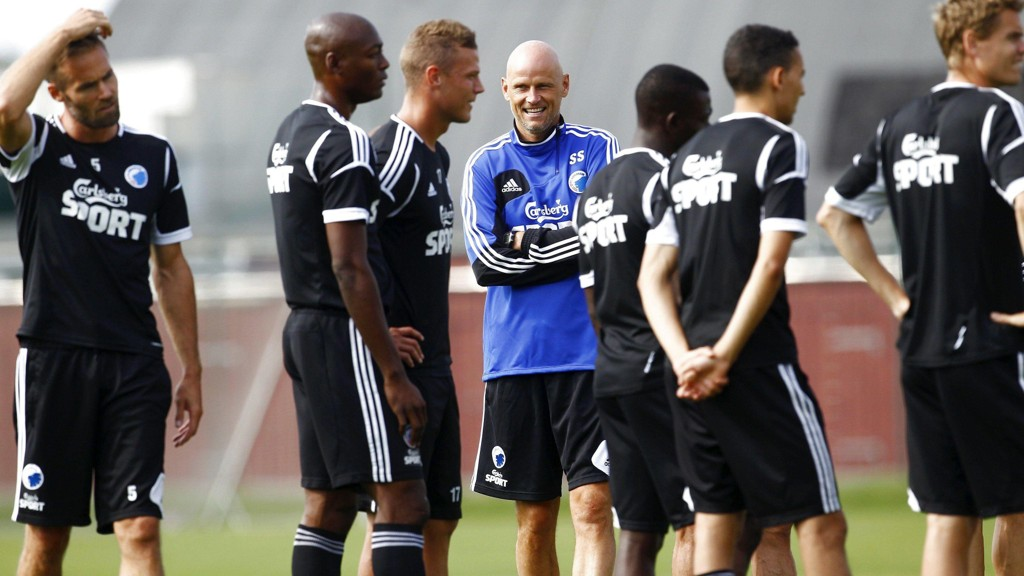 Ståle Solbakken går løs på en ny sesong som trener for FC København.