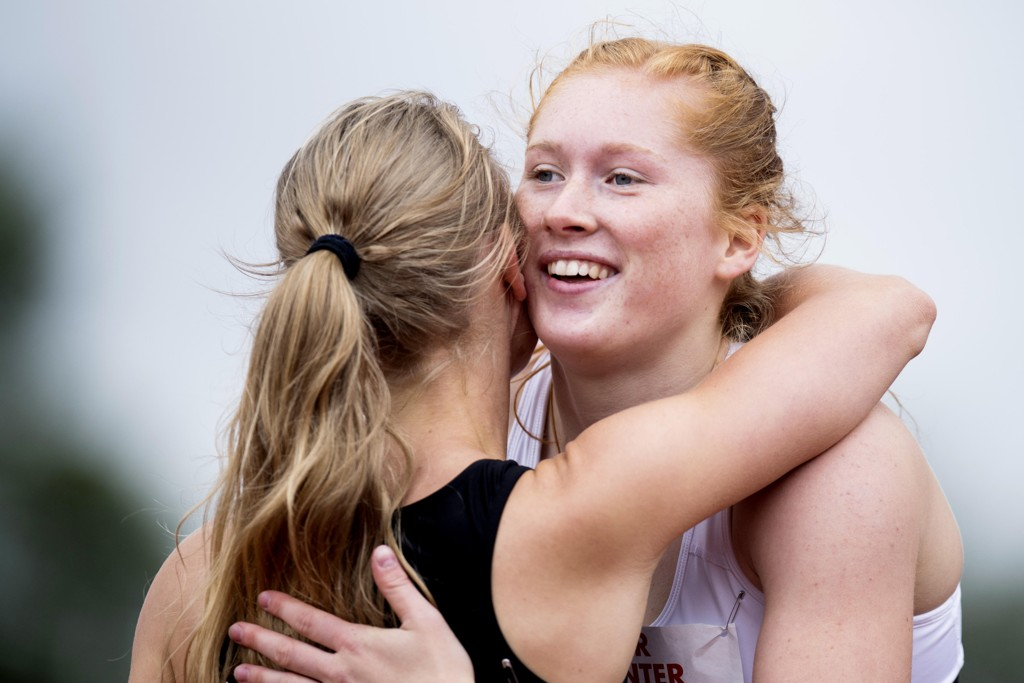 Ida Eikeng gjør det skarpt i U20-VM. Her under NM på Askøy for to år siden. Foto: Jon Olav Nesvold / NTB scanpix