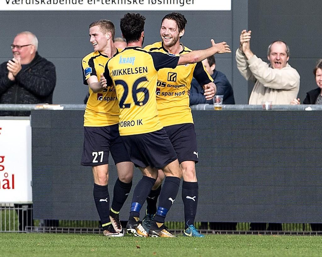 Nordmannen Pål Alexander Kirkevold var toppscorer i den danske Superligaen sist sesong. Han blir viktig for Hobro i fredagens seriepremiere mot nyopprykkede Vejle.