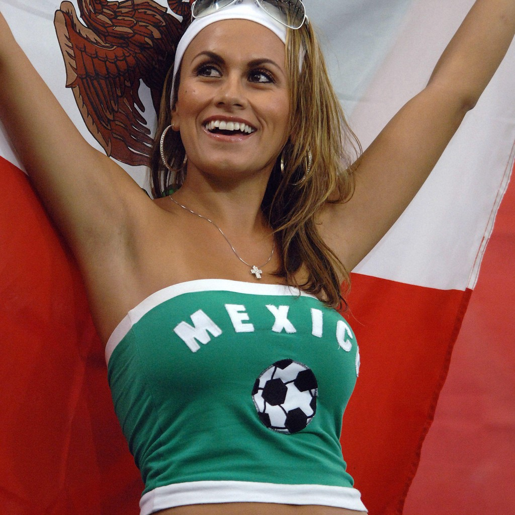 Mexicansk supporter