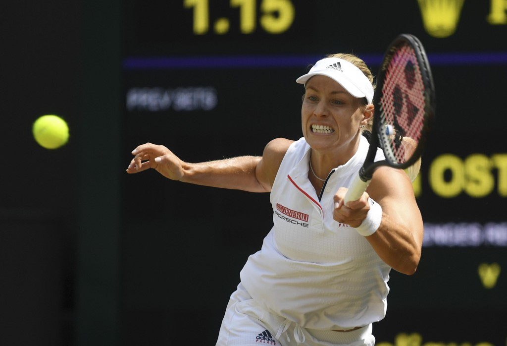 Angelique Kerber er klar for sin annen Wimbledon-finale. Foto: Neil Hall / AP / NTB scanpix