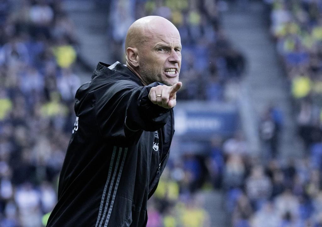 Ståle Solbakken leder FC København til 1-0-seier borte mot finske KuPS i europaligakvalifiseringen torsdag. Foto: Claus Bech / NTB scanpix