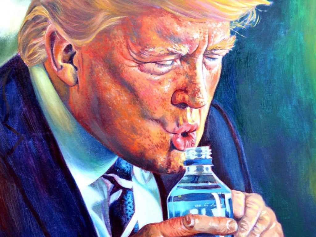"""En """"godkjent"""" måte for amerikanere å drikke på, uten sugerør."""