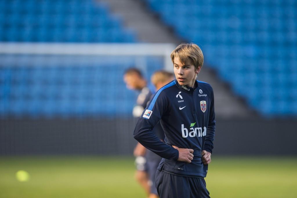 Martin Samuelsen er lånt ut til nederlandske Venlo. Foto: Fredrik Varfjell / NTB scanpix