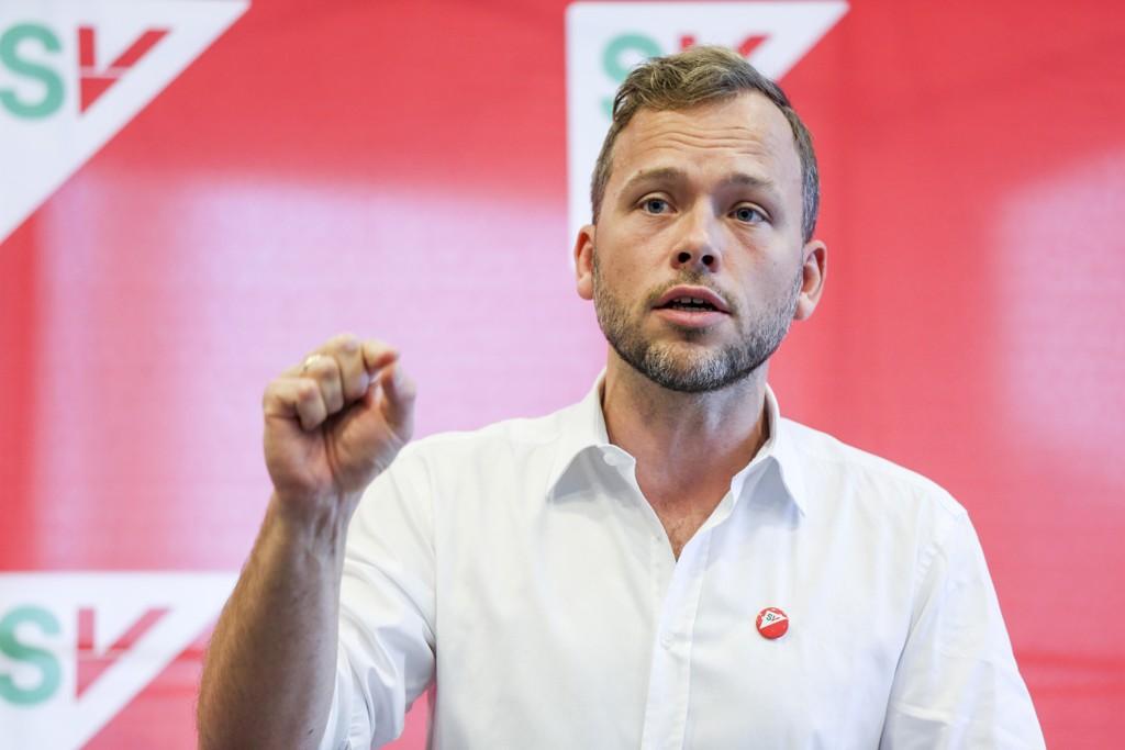 MILLIARDSKJERPELSER: SV-leder Audun Lysbakken vil gå til valg med 14 milliarder i skjerpete skatter.