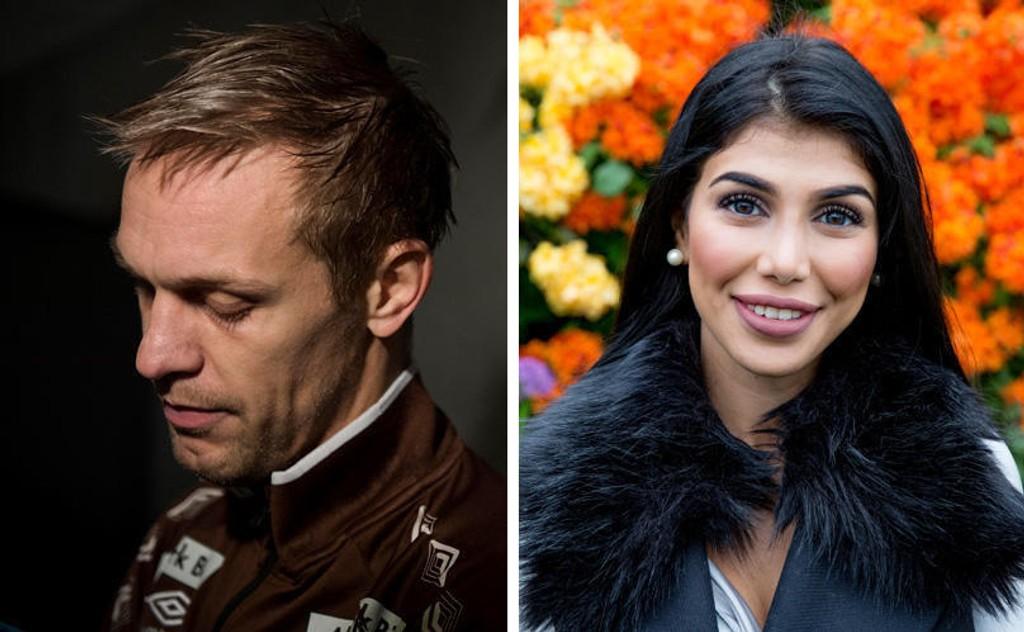TOK KONTAKT: Blogger Isabel Raad tok kontakt med Mads Hansen for å begrave stridsøksen.