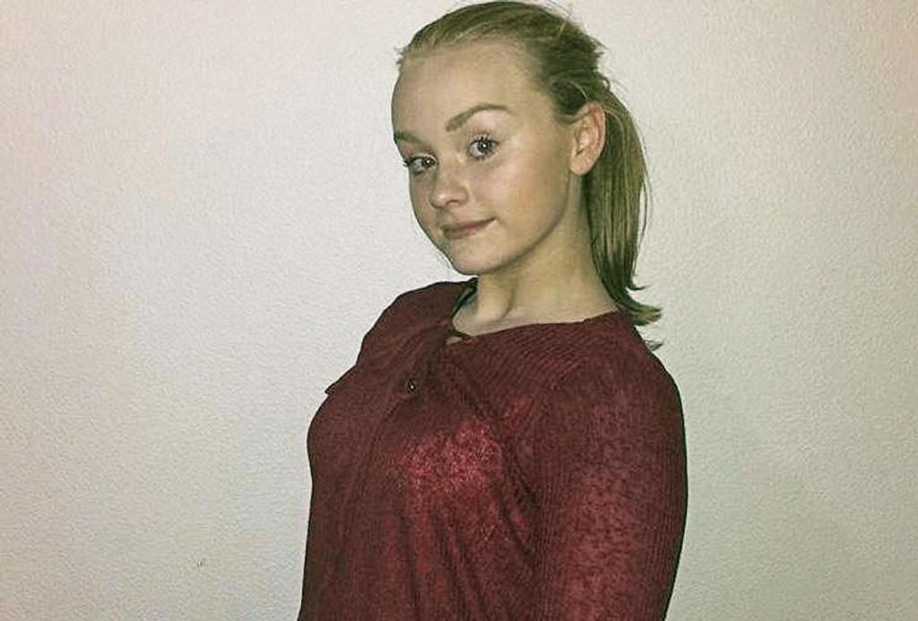 Det var 13 år gamle Sunniva Ødegård som ble funnet død ved Åvegen på Varhaug natt til mandag. Foto: Privat Sunniva Ødegård ble funnet død på Varhaug på Jæren natt til mandag. Ingen er mistenkt i saken.