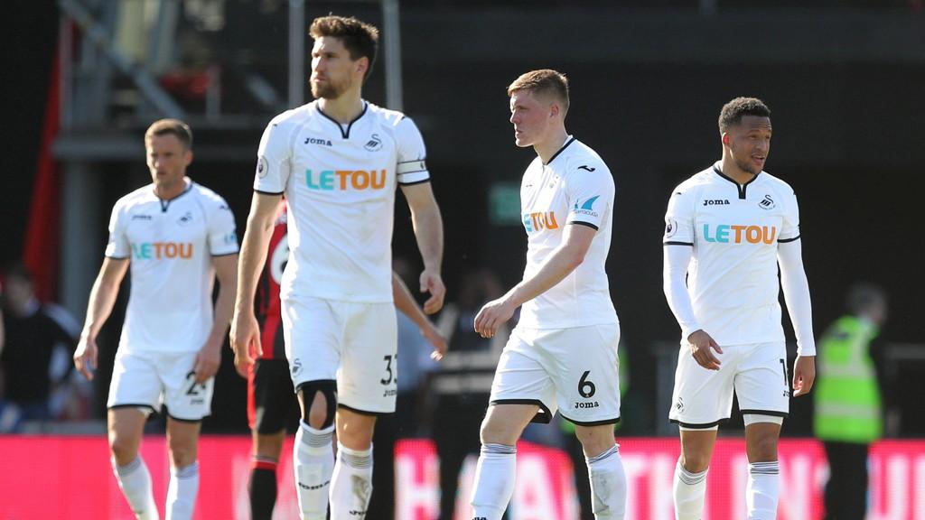 Swansea har tatt steget ned en divisjon, og er gira på Premier League-spill neste sesong.