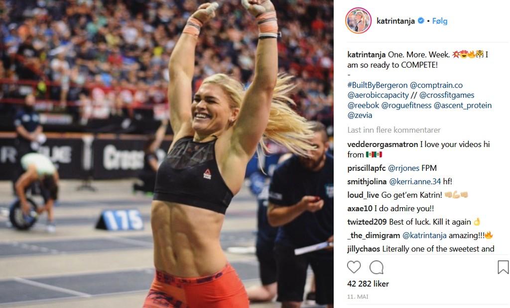 MUSKULØS: Katrin Davidsdottir er blant CrossFit-damene som trekkes fram som et godt forbilder. Men eksperter ber deg husker på at CrossFit-stjerner er ekstreme utgaver.