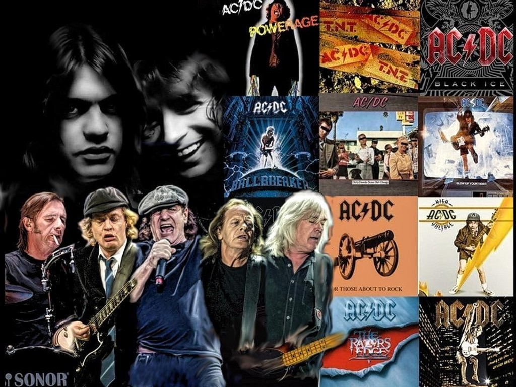 AC/DC photo art design