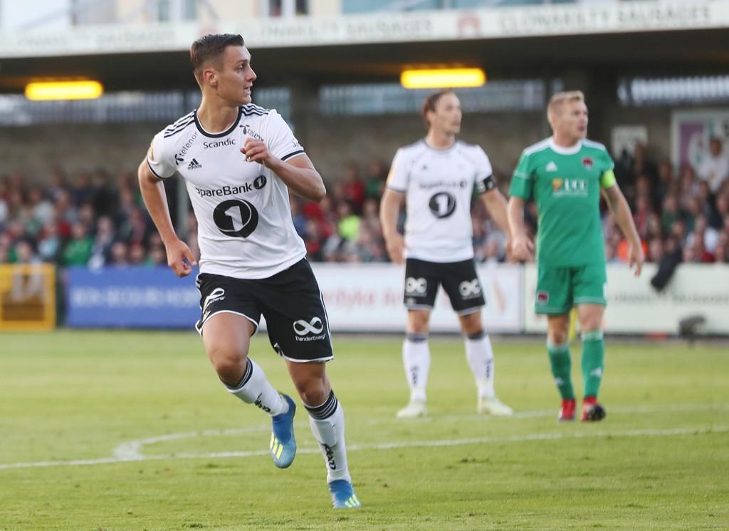 RBK-HELT: Jonathan Levi ble den store helten for Rosenborg mot Cork City.