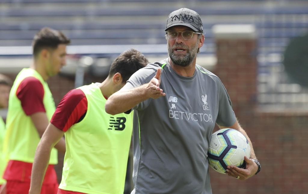 Liverpool-manager Jürgen Klopp er klar for Premier League-sesongen. Foto: Carlos Osorio, AP / NTB scanpix