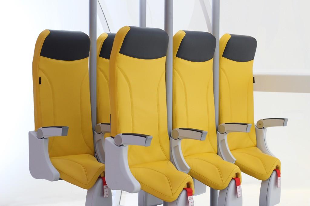 Slik kan man få plass til 20 prosent flere seter på et fly.