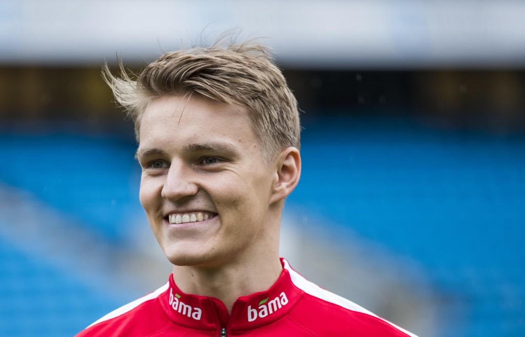 Martin Ødegaard kan være på vei på utlån. Foto: Berit Roald / NTB scanpix