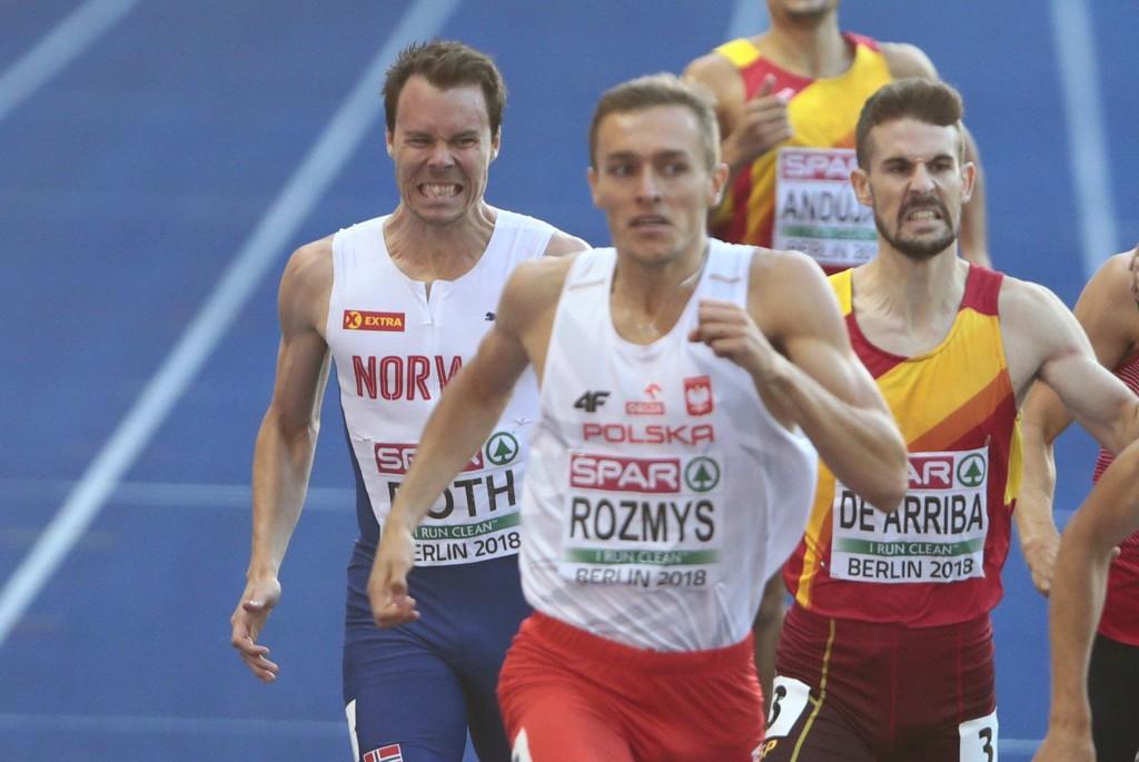 Thomas Roth røk ut i semifinalen på 800 meter. Foto: Fredrik Hagen / NTB scanpix
