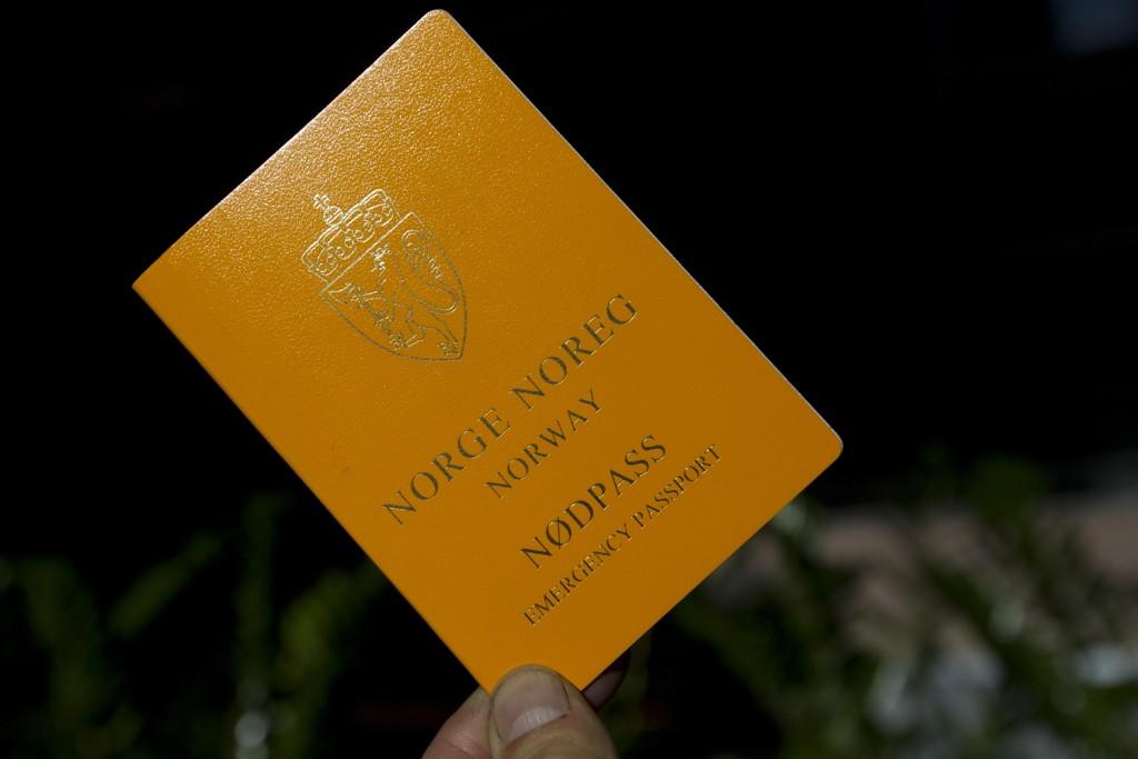 Nødpass koster 450 kroner og kan kun brukes på én reise. I tillegg blir ditt gamle pass ugyldig dersom du får utstedt nødpass. Foto: Terje Bendiksby / NTB scanpix
