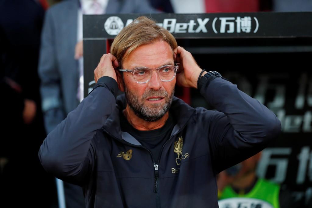 TV 2-TRØBBEL: Liverpool og Jürgen Klopp spiller mot Crystal Palace, men TV 2 ser ut til å ha problemer med sin streametjeneste TV 2 Sumo.