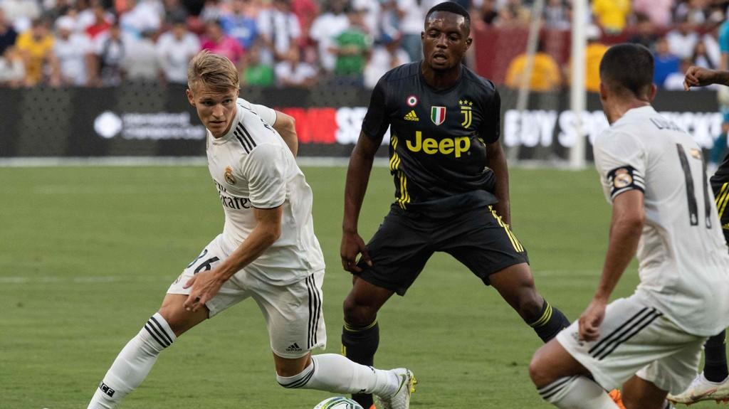LÅNES UT: Real Madrid låner ut Martin Ødegaard.