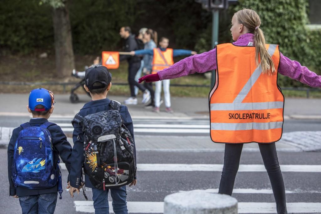 EN STOR DAG: For de fleste er første skoledag en merkedag. Men i Oslo holder mange foreldre barna unna, uten at det får noen konsekvenser.