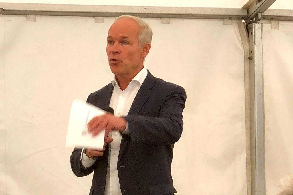 Kunnskapsminister Jan Tore Sanner åpner Norges realfagsgymnas.