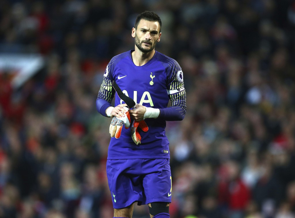 Tottenhams keeper Hugo Lloris er skadd. Foto: AP Photo / Dave Thompson / NTB scanpix.
