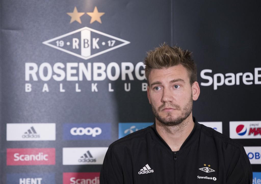 Nicklas Bendtner er i hardt vær etter episoden i København. Foto: Terje Pedersen, NTB scanpix