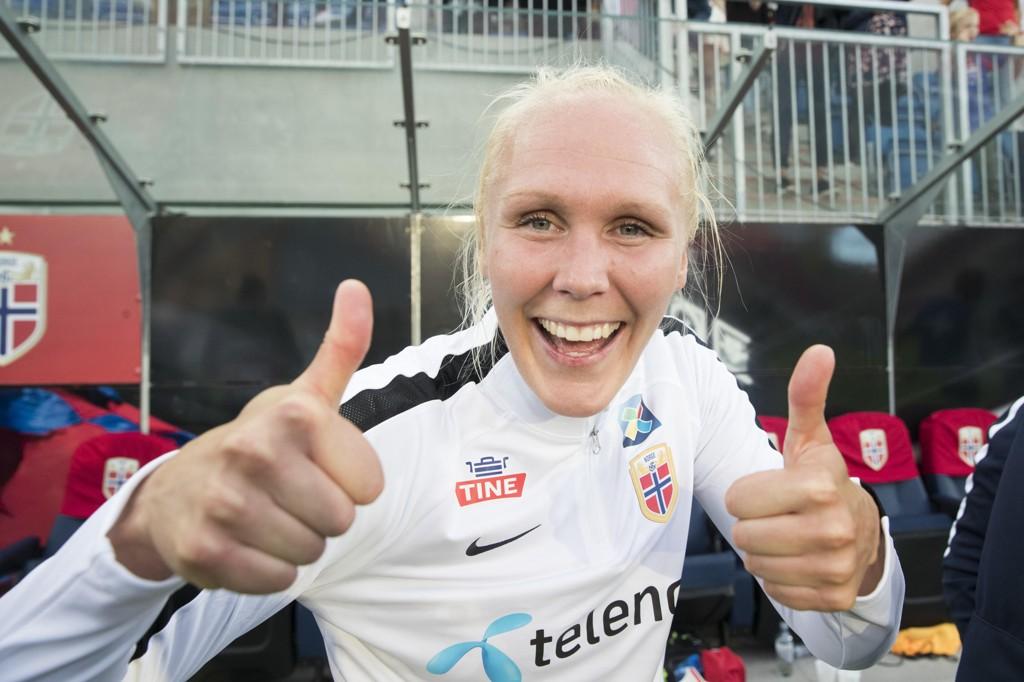 Maria Thorisdottir scoret da Chelsea vant stort i Sarajevo i mesterligaen onsdag. Foto: Terje Pedersen / NTB scanpix