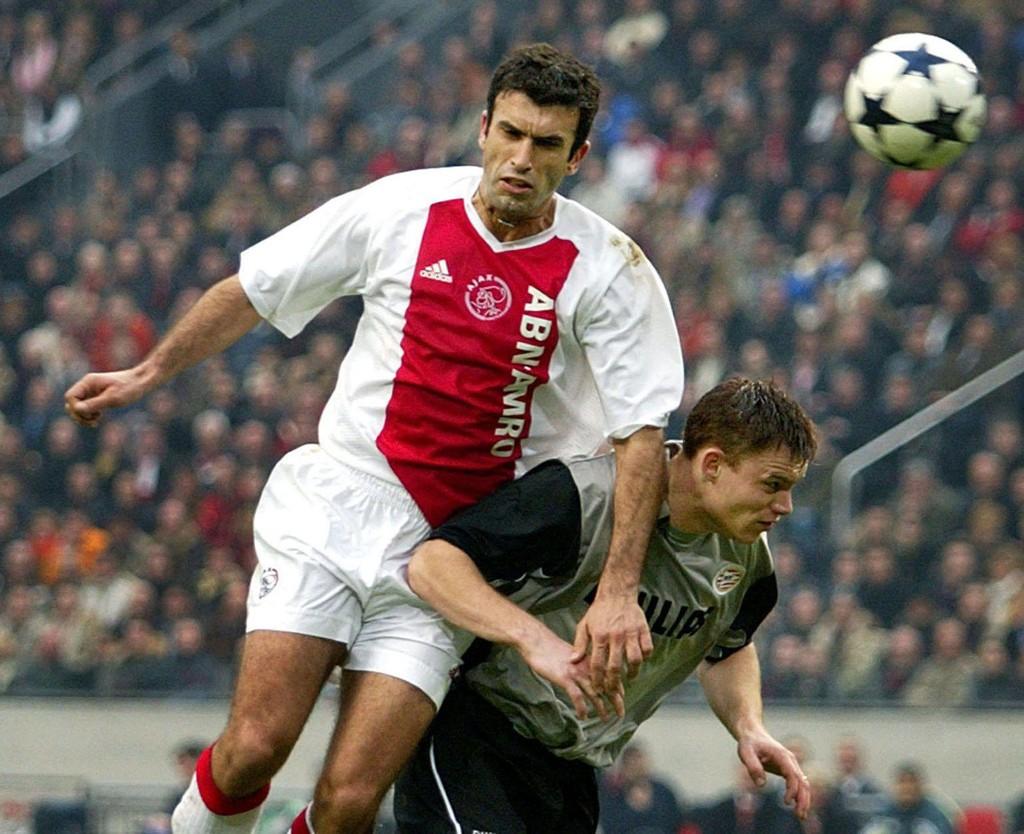 HAR BLITT TRENER: Her er Giannis Anastasiou fra tiden i Ajax. Nå hevder han å være aktuell for Rosenborg-jobben.