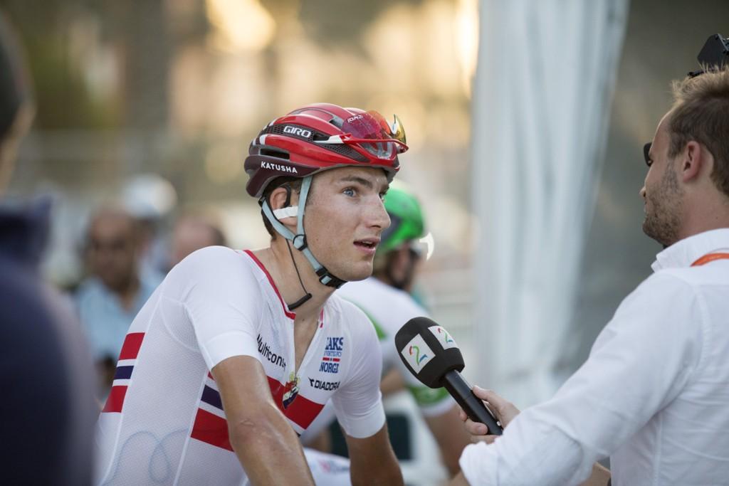 Sven Erik Bystrøm ble sensasjonelt nummer to på torsdagens etappe i Vuelta a España. Foto: Terje Bendiksby / NTB scanpix