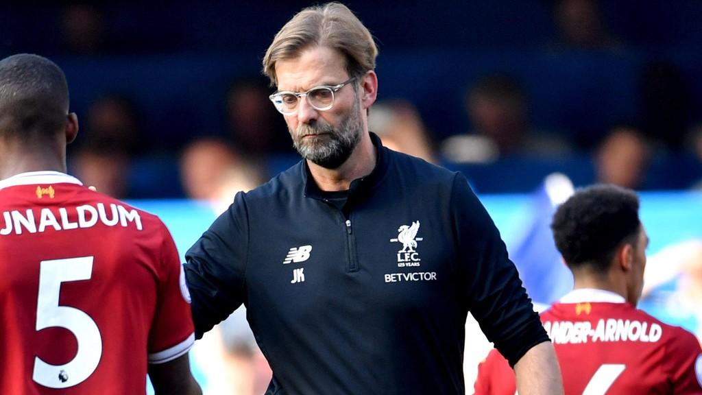 JAKTER NYTT BLOD: Liverpool-manager Jurgen Klopp vil forsterke.