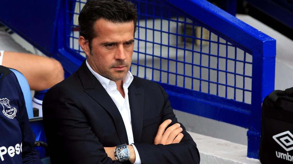 KAN MISTE POENG: Marco Silva og Everton risikerer fratrekk av tre poeng etter at Watford rapporterte inn Merseyside-klubben til Premier League.
