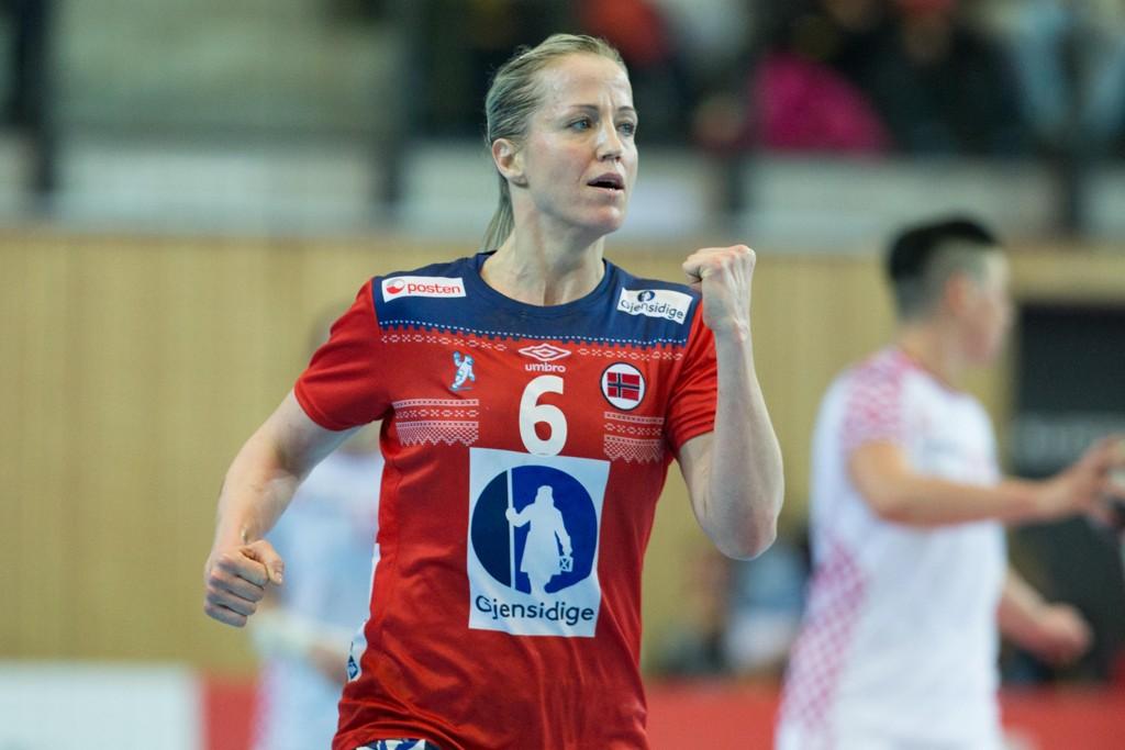 Heidi Løke er klar for landslagsspill etter kneskaden. Foto: Fredrik Hagen / NTB scanpix