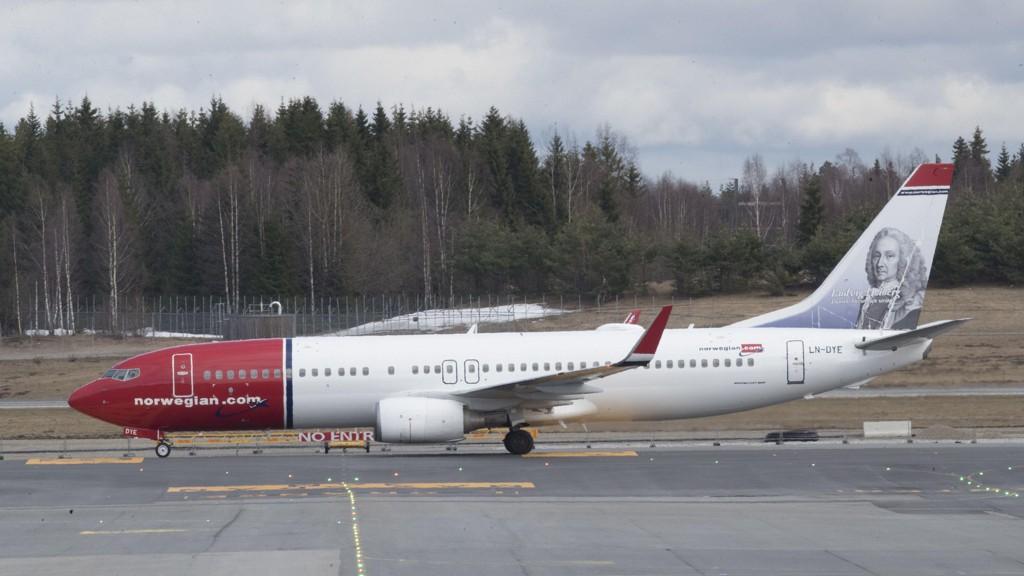 Norwegian har foreløpig ikke innstilt sine direkteflyginger til USA som følge av orkanen Florence. Foto: Vidar Ruud / NTB scanpix