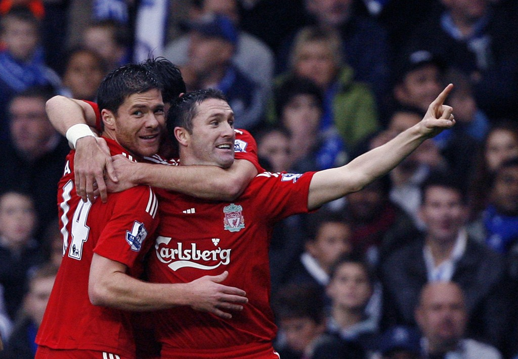 FLOPPET: Robbie Keane og Liverpool ble aldri noen god match. Han forlot klubben et drøyt halvår etter han han kom dit i 2008.