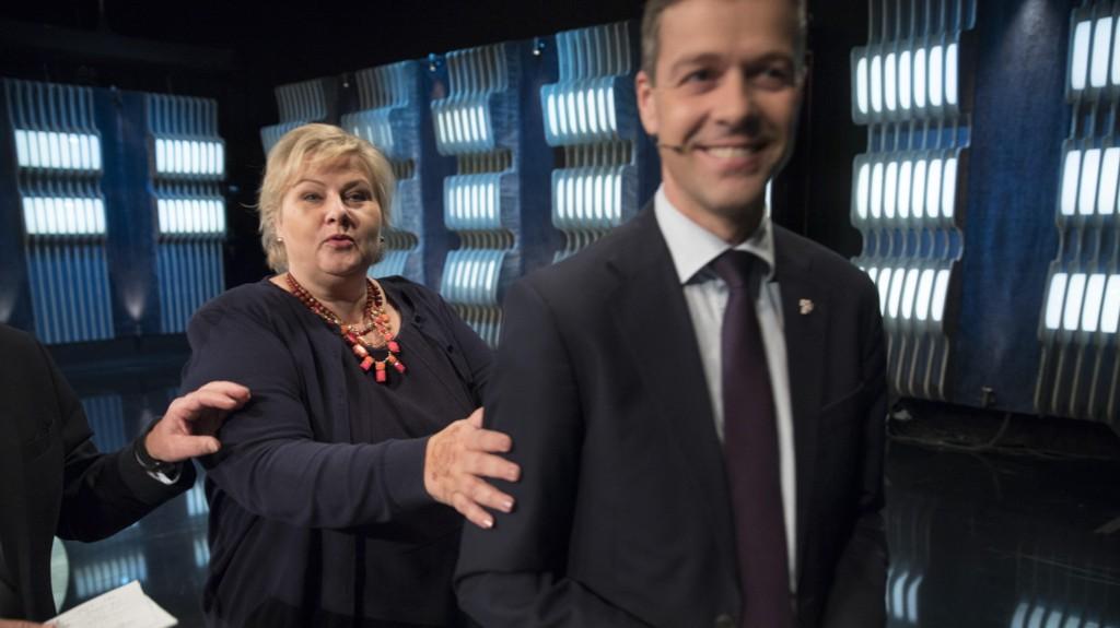 KAN BLI STATSRÅD: Kristelig Folkepartis partileder Knut Arild Hareide blir statsråd hvis partier støtter og går inn i den borgerlige regjeringen.