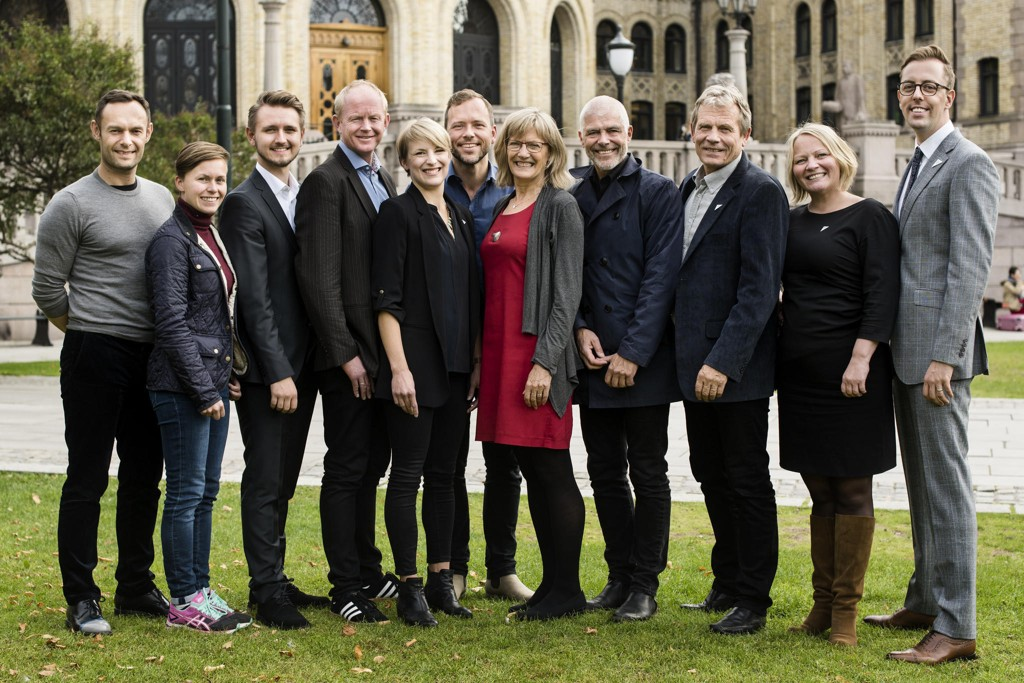 SV-STORTINGSGRUPPEN: Disse vil ha 10 prosent skatt på arv i Norge.
