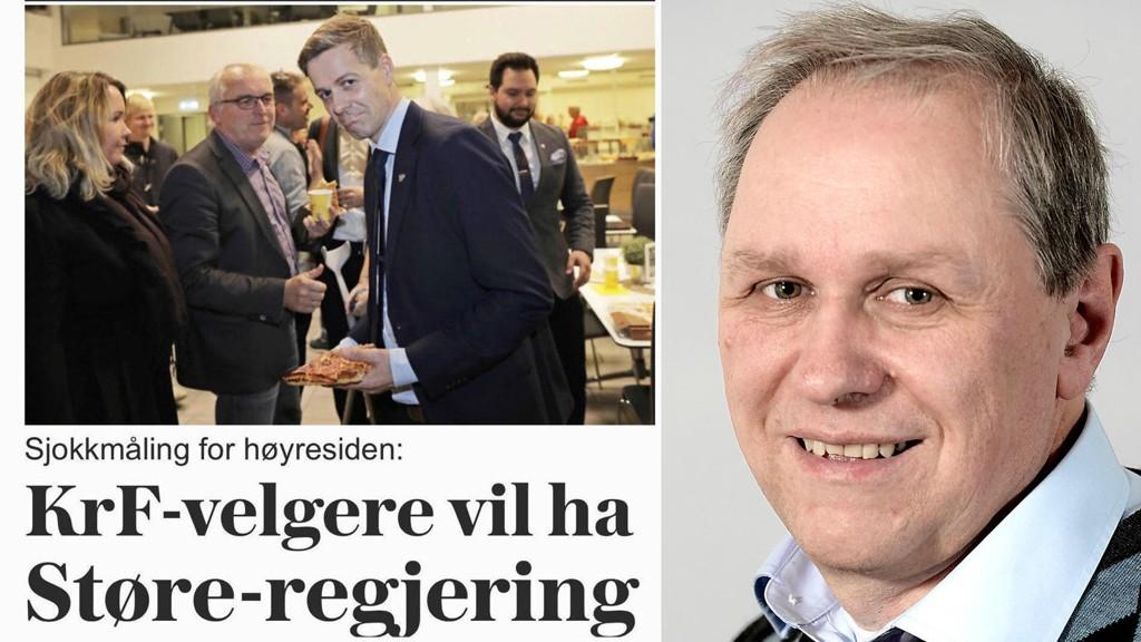 Nettavisens redaktør Gunnar Stavrum kalte VG-måling fake news. Nå får Stavrum støtte fra Jan Ubøe, som er professor i matematikk ved NHH.