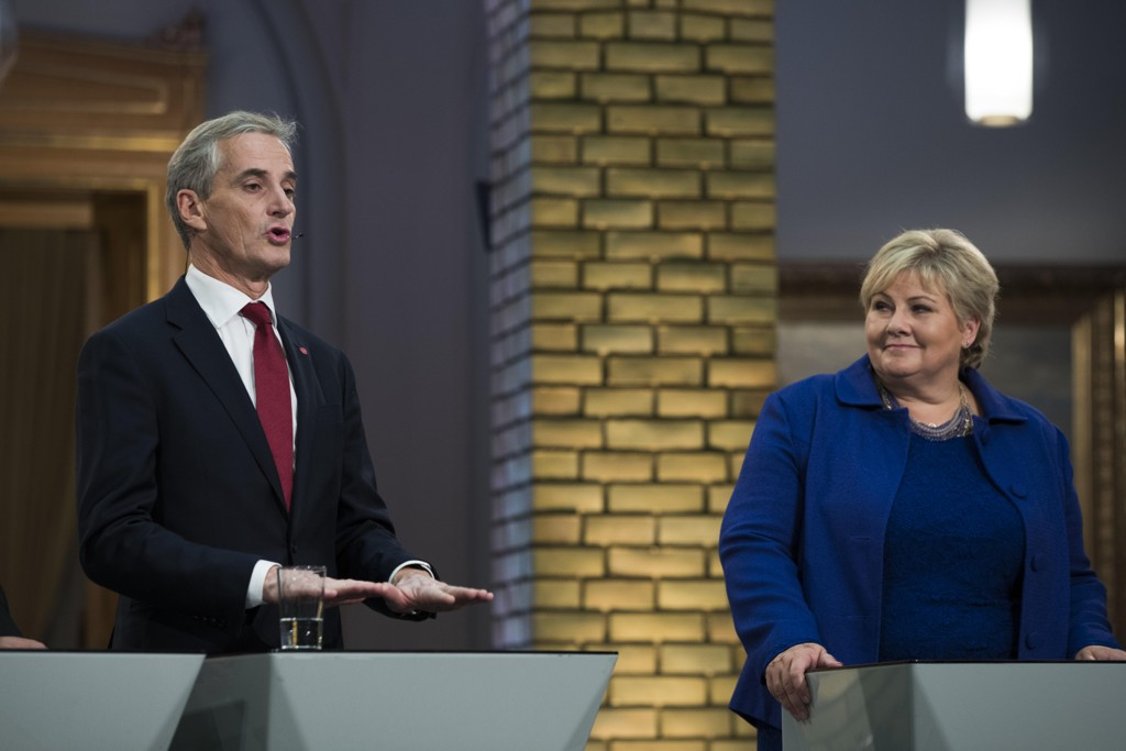 HVEM VIL KRF HA: Den 2. november skal KrFs ekstraordinære landsmøte velge mellom Jonas Gahr Støre og Erna Solberg. Det store spørsmålet er hva KrFs velgere mener.
