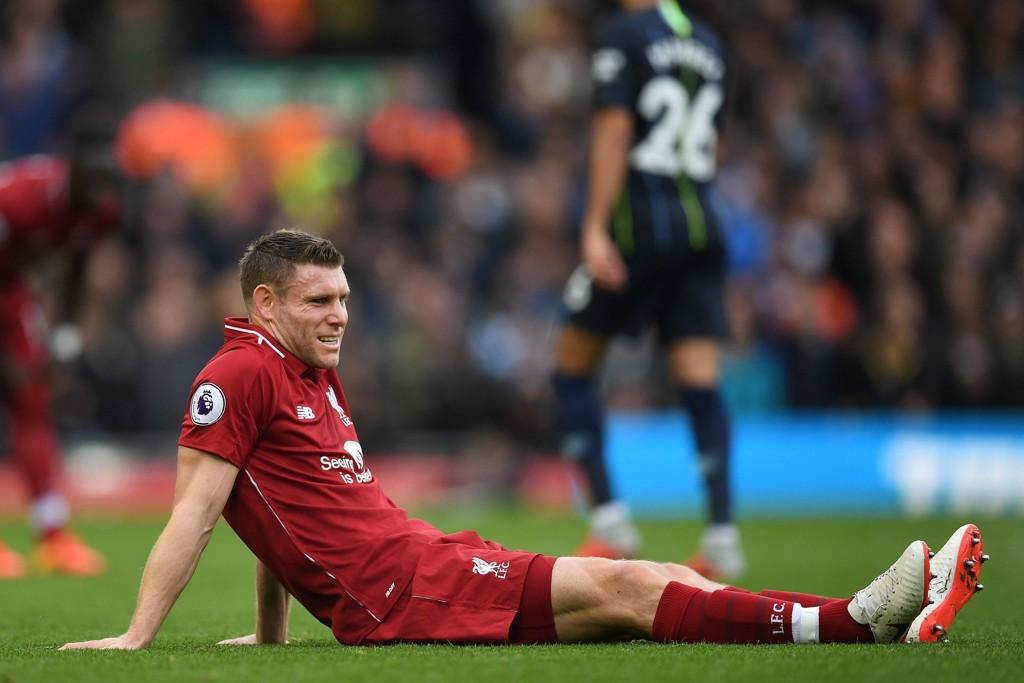 TROLIG UTE TIL NOVEMBER: Liverpools James Milner.