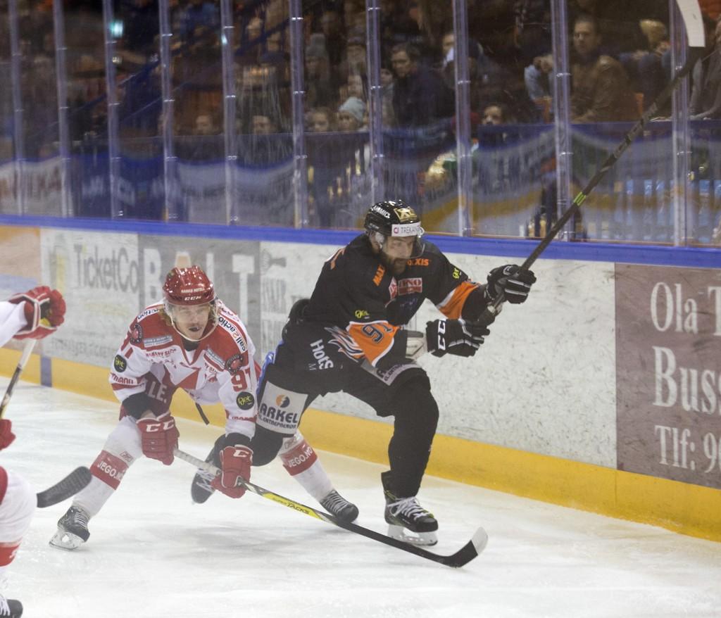 Spartas Marcus Bryhnisveens B-prøve var også positiv. Her er han som Stjernen-spiller (nr. 9) forrige sesong. Foto: Terje Bendiksby / NTB scanpix