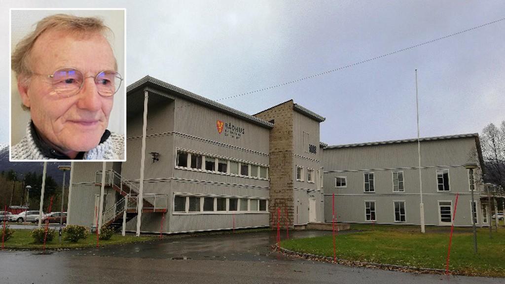 UTEN LØNN: Ordfører Knut Jentoft (70) i Storfjord kommune i Troms har takket nei til godtgjørelse som ordfører.