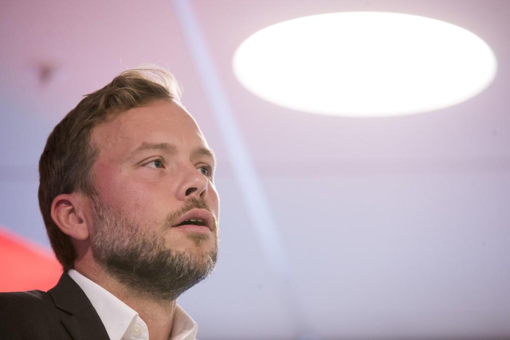 SV-leder Audun Lysbakken krever stans i alt salg av militært materiell til Saudi-Arabia Arkivfoto: Terje Pedersen / NTB scanpix