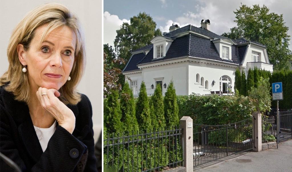 GIKK NED 21 MILLIONER: Grace Skaugen har solgt boligen på Frogner til 59 millioner kroner - 21 millioner kroner under prisantydning.