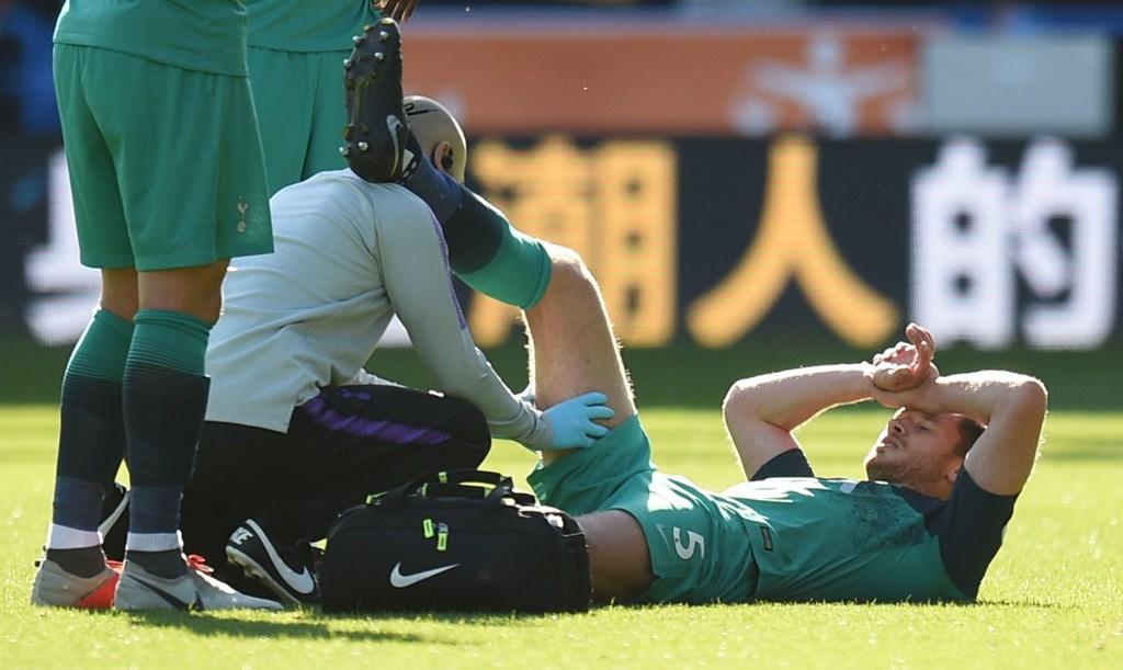 UTE TIL DESEMBER: Tottenhams Jan Vertinghen.