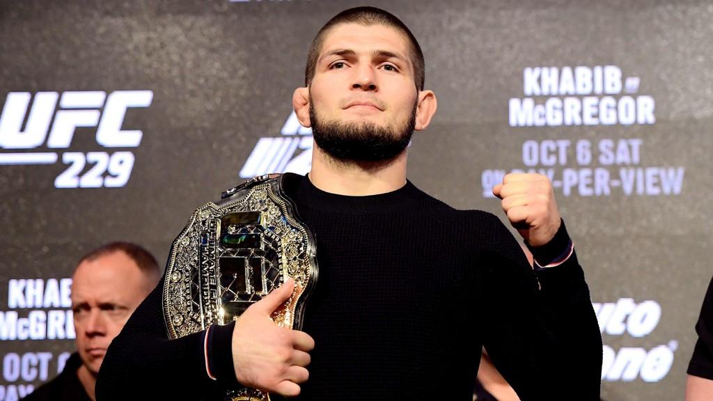 FORBANNA: Khabib Numagomedov truer med å forlate UFC dersom lagkamerat Zubajra Tukhogov får sparken.