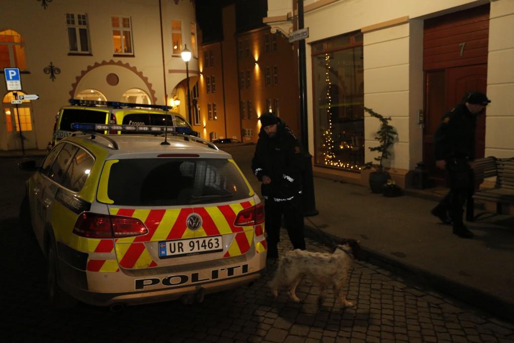En 29 år gammel mann døde etter at han ble knivstukket i Ålesund sentrum i februar. Foto: Svein Ove Ekornesvåg / NTB scanpix