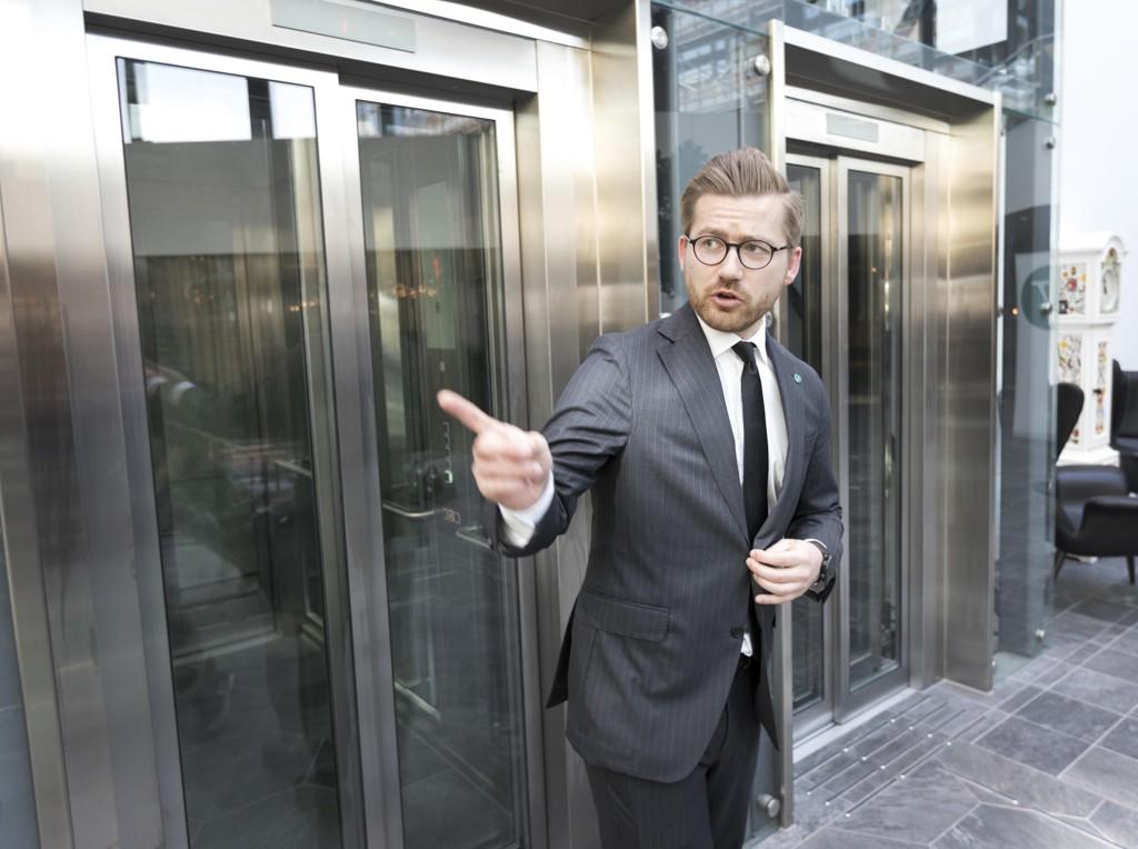 Venstres Sveinung Rotevatn går fra Justisdepartementet til Klima- og miljødepartementet. Foto: Gorm Kallestad / NTB scanpix