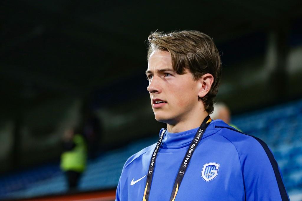 Sander Berge sto over også fredagens trening. Foto: Fredrik Hagen / NTB scanpix