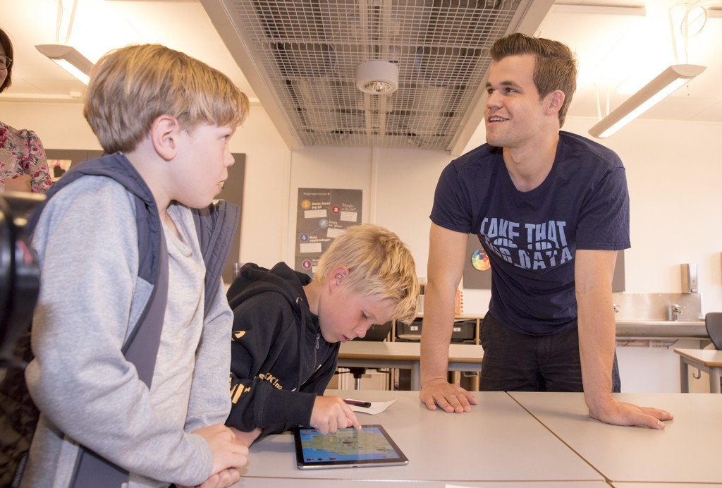 Magnus Carlsen får hvile i Hellas fredag. Foto: Terje Pedersen / NTB scanpix